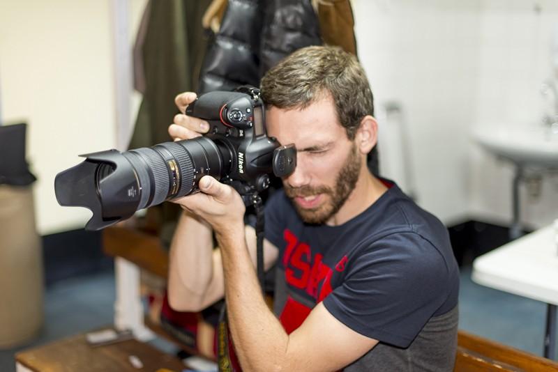 Backstage shooting 2015